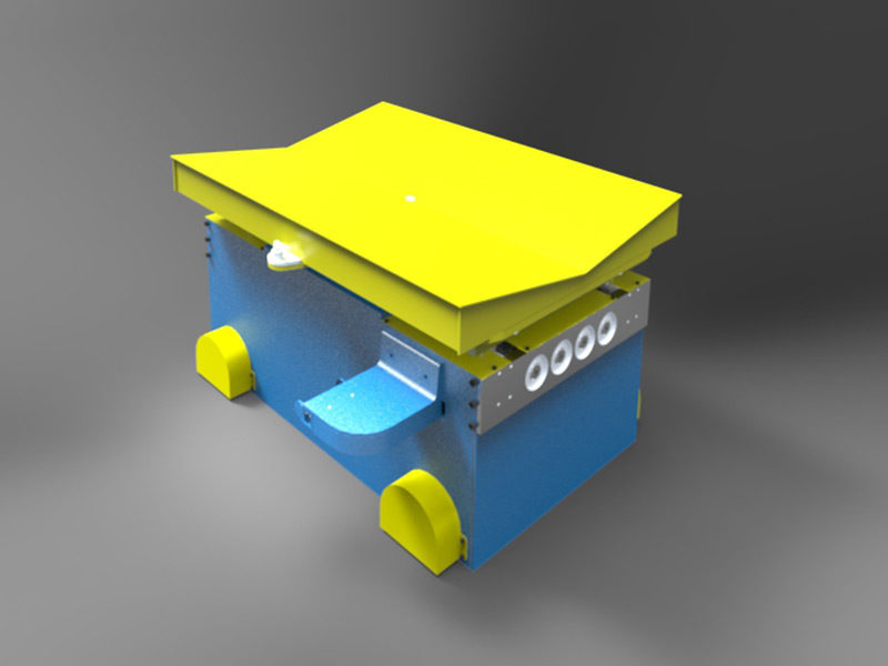 Rotary Trolley For Coils Concept Stal